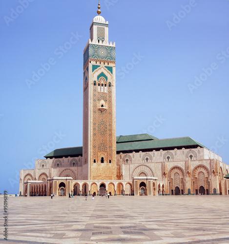 Foto  Hassan II Mosque in Casablanca, Morocco