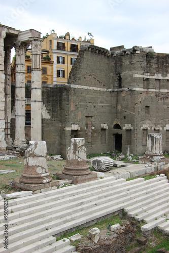 Photo  Rome,Italy,Forum Augusti,Fori Imperiali,summer.