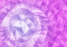 3d Triangular Background
