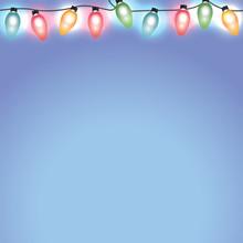 Colorful Christmas Holiday Lig...