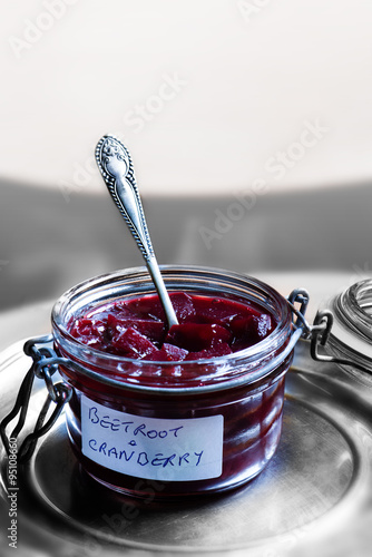 Fotografía  Beetroot And Cranberry Pickle
