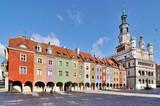Fototapeta Miasto - Market square, Poznan, Poland