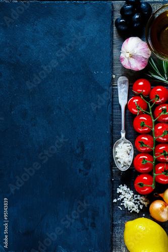 Fototapety, obrazy: vegetables background