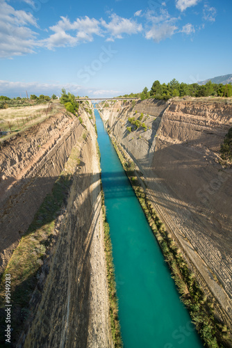 Poster Channel Corinth canal
