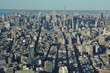 View of New York City from One World Trade Center Observation Deck