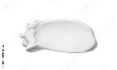 Fotografie, Obraz  Cosmetic cream isolated on white