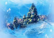 Illustration: Sea City - Vinta...