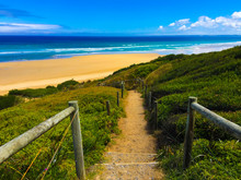 Steps To A Secluded Beach At Venus Bay, Australia