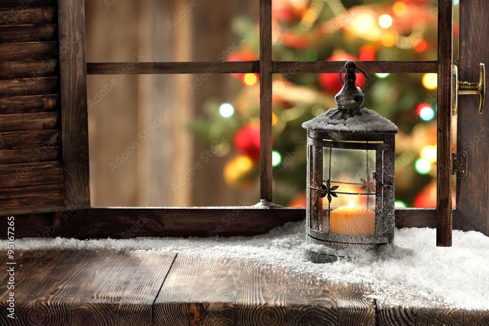 Fotografia xmas lamp