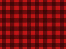 Seamless Pattern With Black Sq...