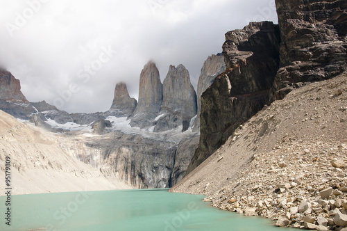 Wall mural - Granite Towers - Torres Del Paine National Park - Chile