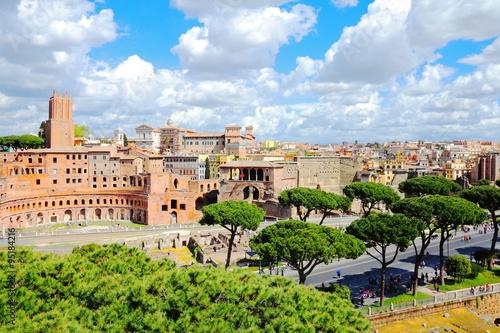 Photo  Trajan Forum, Rome