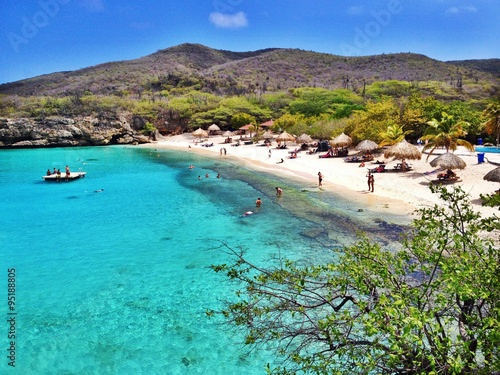 Foto op Plexiglas Caraïben Strand auf Curacao