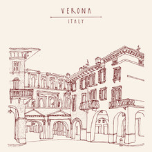 Verona Italy Postcard