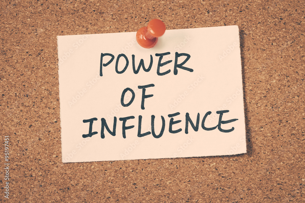 leadership the power of influence What role does power and influence have on leadership styles what impact does it have on follower/staff behaviour and performance this is a question that all leaders, whether they be organisational leaders, business leaders, team leaders or project leaders need to address.