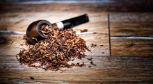 Wooden Smoking Pipe Tobacco Ci...