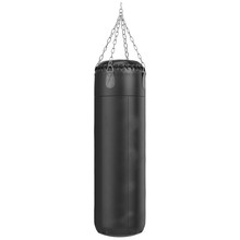 Big Leather Black Punching Bag