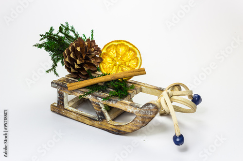 Schlitten Weihnachtsdeko Buy This Stock Photo And Explore Similar