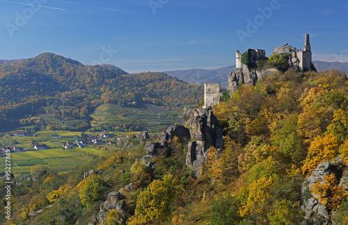 Photographie Ruine Dürnstein - Wachau / Österreich