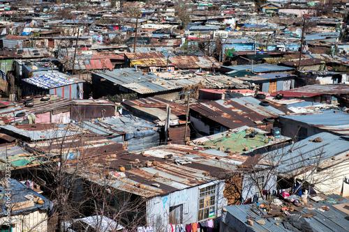 Staande foto Afrika Soweto town