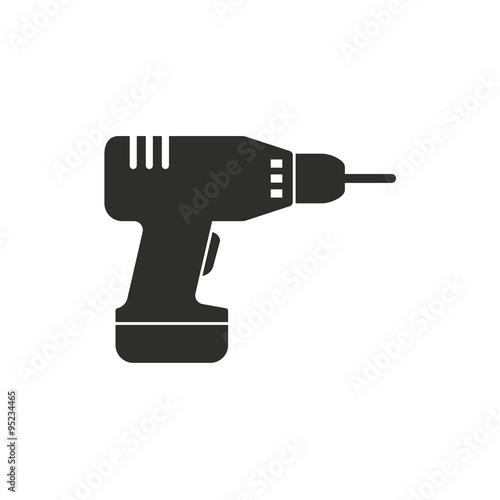 Fotografie, Obraz  Drill  icon.