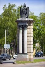 Gatchina, Smolensk (Dwin) Gate, Russia, Saint Petersburg