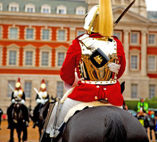 In London England Horse And Ca...