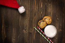 Milk And Cookies For Santa Cla...