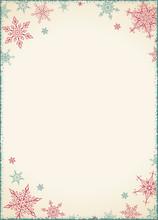 Vintage Christmas Frame - Illustration. Vector Illustration Of Old-Styled Winter Background. Christmas Card - Vintage Empty Frame Portrait.