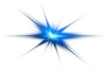 Beyaz Arkaplandaki Mavi Çatlama