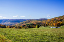Pennsylvania Mountains In The Fall