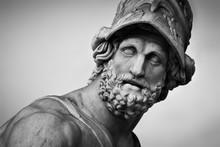 Ancient Sculpture Of Menelaus ...
