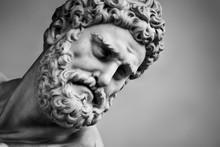 Ancient Sculpture Of Hercules ...
