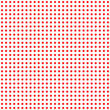 Red Dots On White Pattern