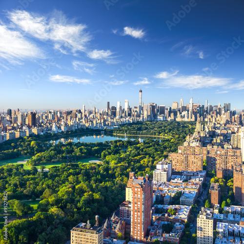 Foto Central Park Luftbild, Manhattan, New York;