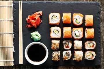Fototapeta Sushi Sushi rolls