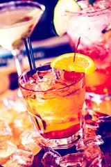 Fototapeta Do gastronomi Cocktails