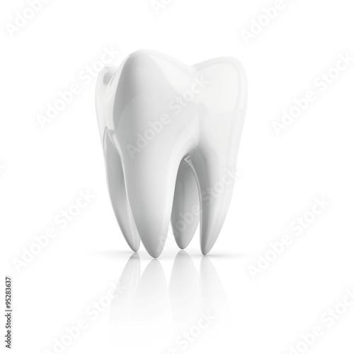 Fotografie, Obraz  tooth