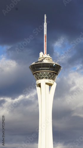 Foto op Canvas Las Vegas Stratosphere tower in Las Vegas, Nevada