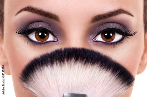 Fotografie, Obraz  Beautiful Woman Eye Makeup. Beauty Make Up