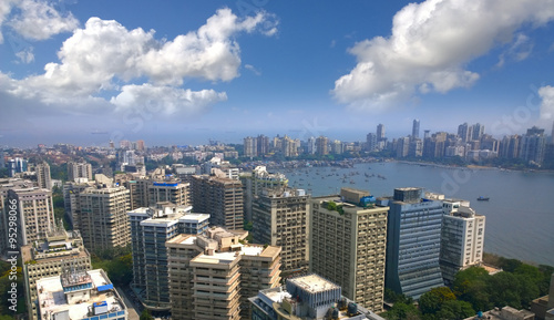 Photo  India Mumbai financial capital  Skyline