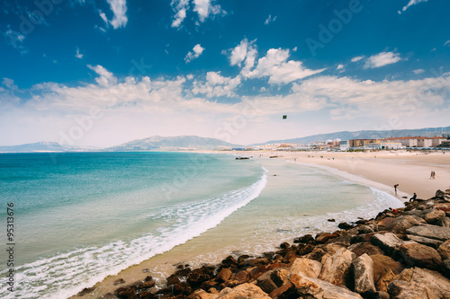 Coast near resort town of Tarifa, Spain