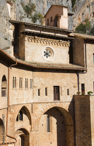 Poster Monument Monastero del Sacrco Speco tra le rocce