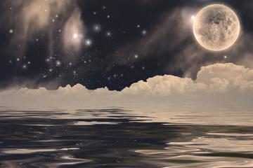 Fototapeta Fanastic Moon