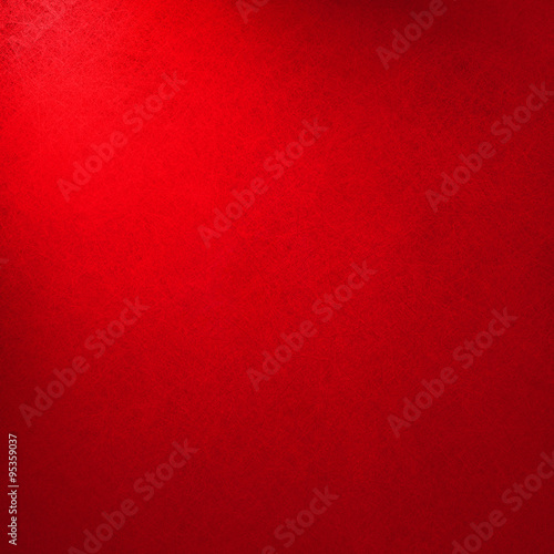 abstract red background in Christmas color, light corner spotlight with shadow border, vintage background texture, red paper layout design, valentines day background