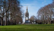 Albert Memorial In Hyde Park, London, England