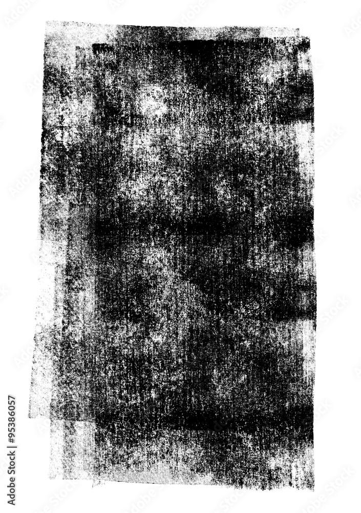 4f0a188533 Fotografía Negro rodado textura tinta sobre fondo blanco | Europosters.es