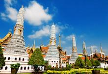 Temple  Phra Kaew, Bangkok, Thailand