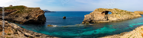 Foto op Canvas Cyprus A view of a Blue Lagoon