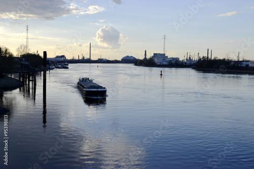 Fotobehang Kanaal Kanal
